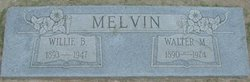 Willie B <i>Melvin</i> Melvin