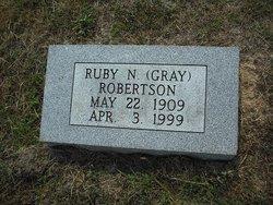 Ruby N <i>Gray</i> Robertson