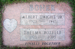 Thelma Rozelle Boner