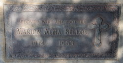 Marion Alma Bellor