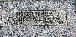 Sr Mary Elizabeth Curley