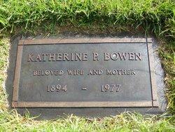 Katherine P Bowen