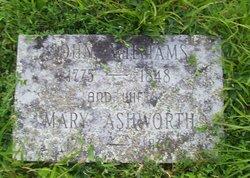 Mary Polly <i>Ashworth</i> Williams