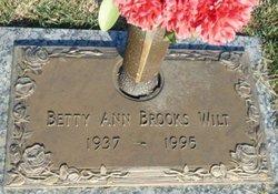 Betty Ann <i>Brooks</i> Wilt
