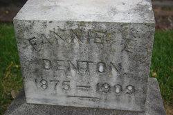 Frances L Fannie Denton