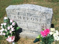 Mary J. <i>Pendleton</i> Ambrose