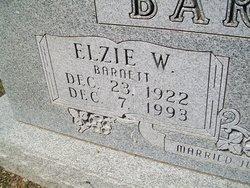 Elzie W. Barnett