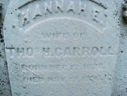 Hannah E Carroll