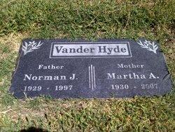 Martha Ann Vander Hyde