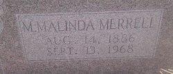 Mary Malinda <i>Burns</i> Merrell