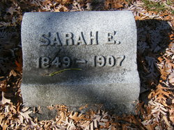 Sarah E <i>Washburne</i> Dudley