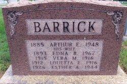 Arthur Ellsworth Barrick