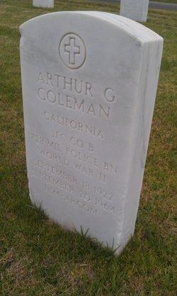 Arthur G Coleman