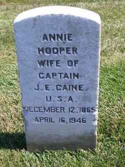 Annie Corinne <i>Hooper</i> Caine