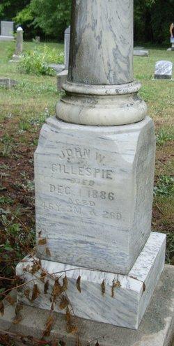 John W Jack Gillespie