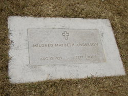 Mildred Marybeth <i>Nelson</i> Anderson