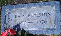 Ida Marie <i>Martin</i> Boylston