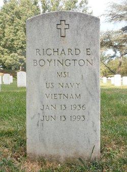 Richard E Boyington