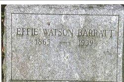 Effie <i>Watson</i> Barratt