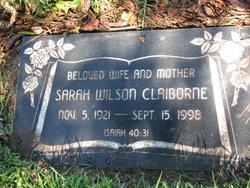 Sarah <i>Wilson</i> Claiborne
