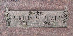 Bertha <i>Myers</i> Blair