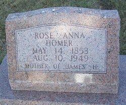 Rose Anna <i>Rollins</i> Homer