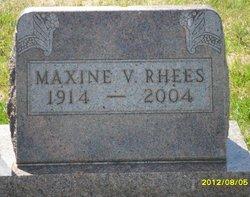 Maxine V. <i>Campbell</i> Rhees
