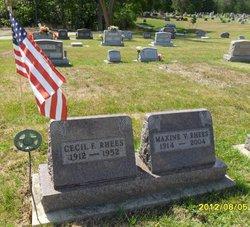 Cecil Ford Rhees