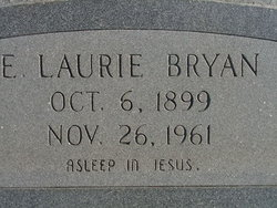 Elias Lauriston Laurie Bryan