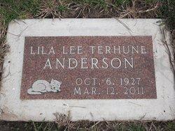 Lila Lee <i>Terhune</i> Anderson