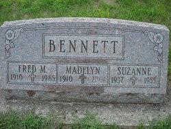 Madelyn Catherine <i>Fahey</i> Bennett