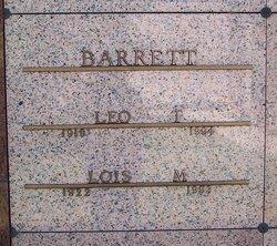 Lois <i>Correll</i> Barrett