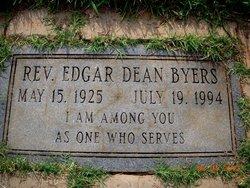 Rev Edgar Dean Byers