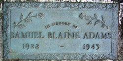 Samuel Blaine Adams