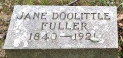 Jane Elizabeth Jennie <i>Doolittle</i> Fuller