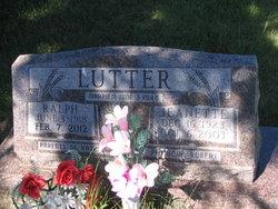 Ralph Hubert Lutter