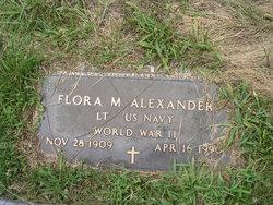 Flora M. Alexander