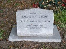 Sallie May <i>Shoaf</i> Shoaf