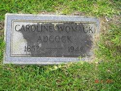 Sarah Eliza Caroline <i>Womack</i> Adcock