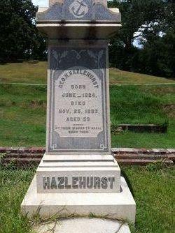 Col George Hall Hazlehurst