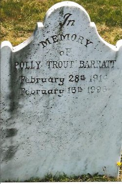 Polly M. <i>Trout</i> Barratt