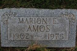 Marion E Amos