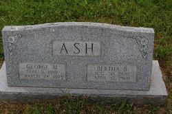 Bertha Blanche <i>Hawkins</i> Ash