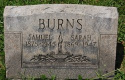 Sarah Catherine <i>Youtsey</i> Burns