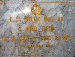 Ella Nellie <i>Church</i> Fitch