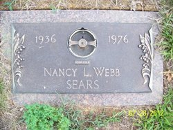 Nancy L <i>Sears</i> Webb