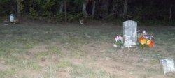 Unknown White Brick Marker Child Grave