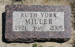 Ruth <i>York</i> Miller