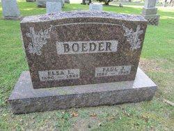 Elsa L. <i>Allmers</i> Boeder