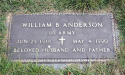 William B Anderson